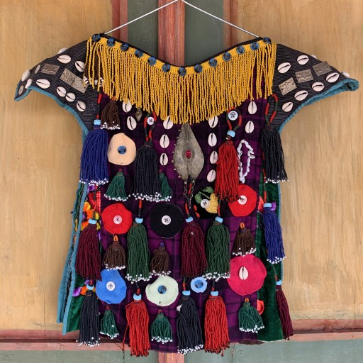 Vintage Ceremonial Dress-Wall042