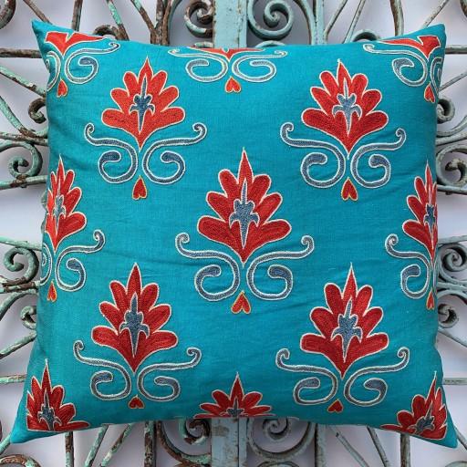 Suzani Silk Cushion-Szn002