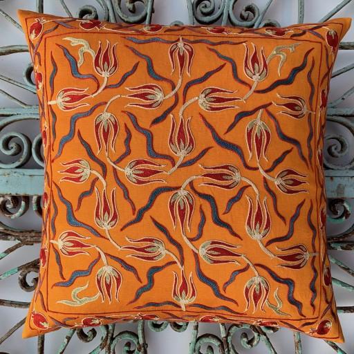 Suzani Silk Cushion-Szn003