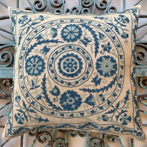 Suzani Silk Cushion-Szn011