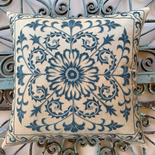 Suzani Silk Cushion-Szn012