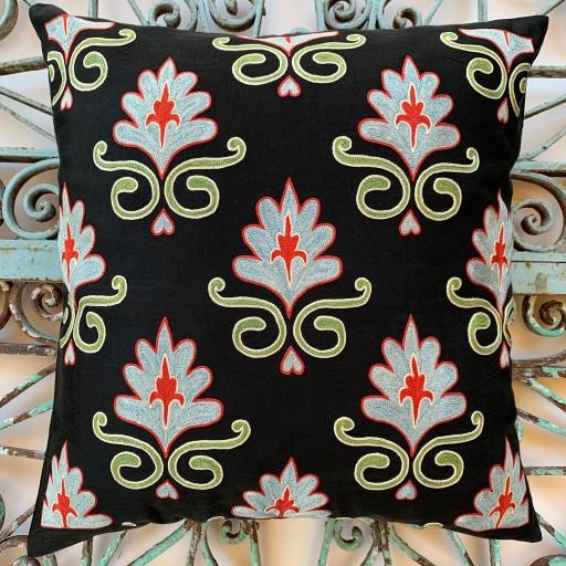 Suzani Silk Cushion-Szn014