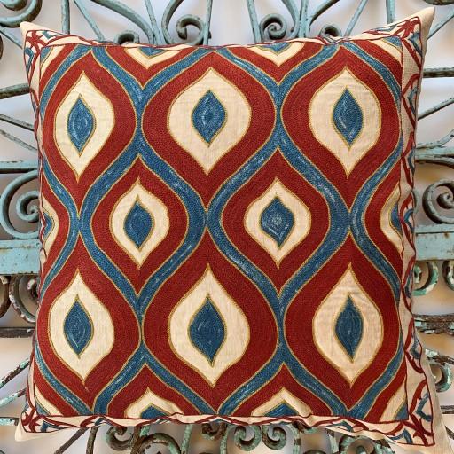 Suzani Silk Cushion-Szn18
