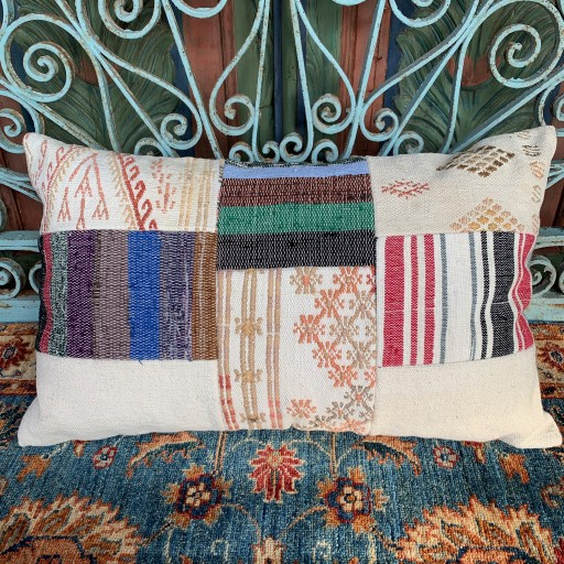 Vintage Patchwork Cushion-PCH001