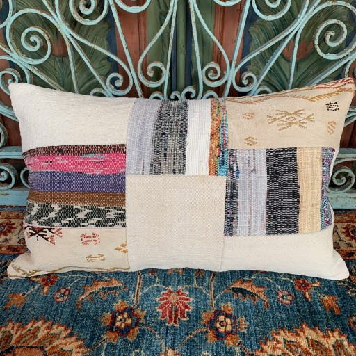 Vintage Patchwork Cushion-Pch005
