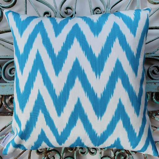Ikat Silk Cushion-Ikt010