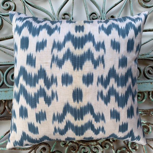 Ikat Silk Cushion-Ikt012