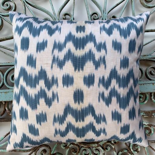 Ikat Silk Cushion-Ikt012