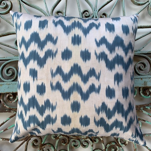 Ikat Silk Cushion-Ikt014