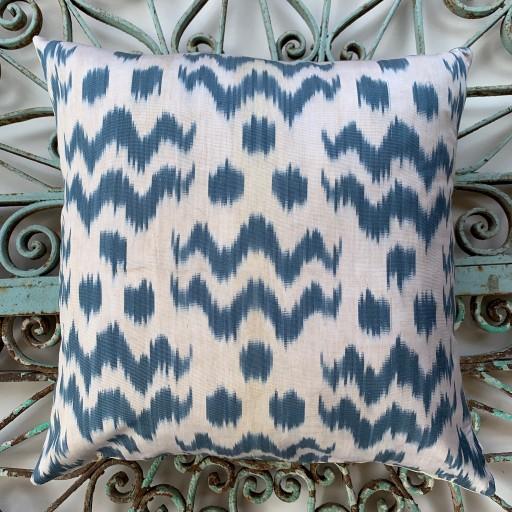 Ikat Silk Cushion-Ikt014