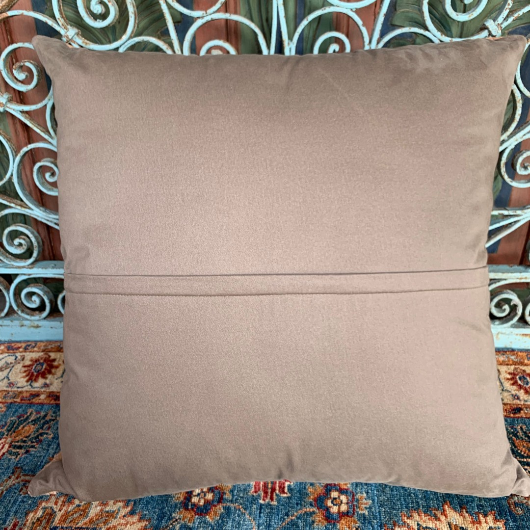 Vintage Kilim Floor Cushion-Flr002