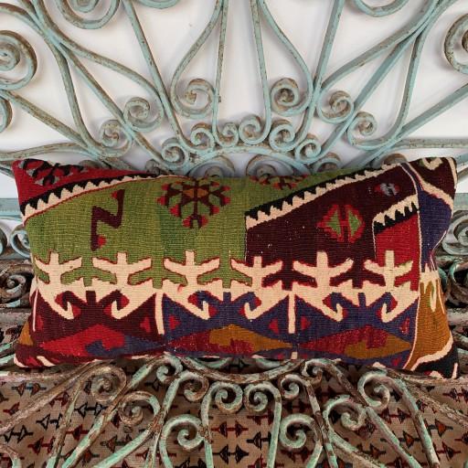 Vintage Bolster Kilim Cushion-Bls045