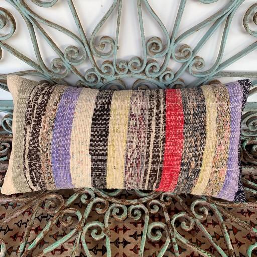 Vintage Bolster Kilim Cushion-Bls050