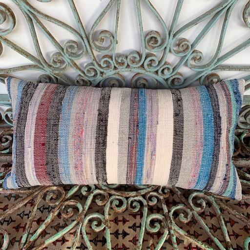 Vintage Bolster Kilim Cushion-Bls051