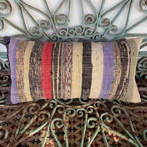 Vintage Bolster Kilim Cushion-Bls053