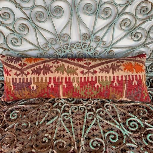Vintage Bolster Kilim Cushion-Bls060