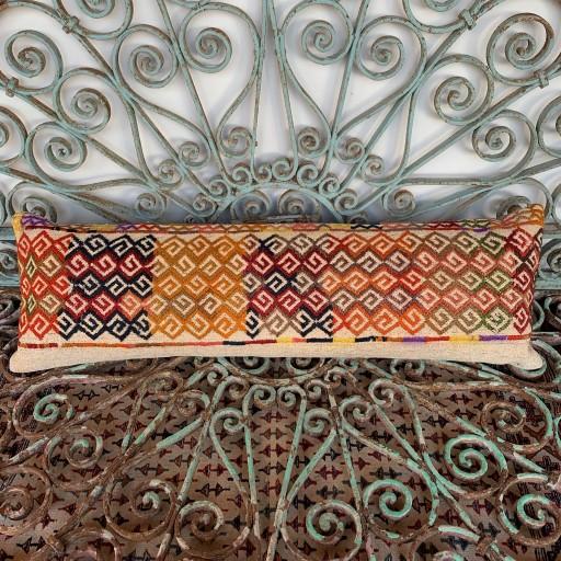 Vintage Bolster Kilim Cushion-Bls061