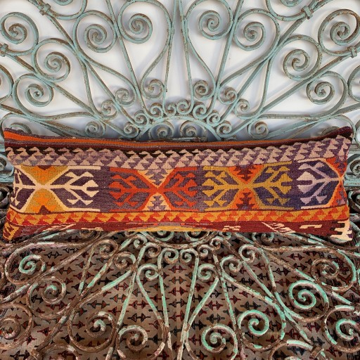 Vintage Bolster Cushion-Bls062