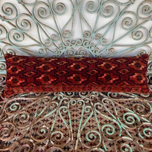 Antique Turkoman Bolster Cushion-Bls063