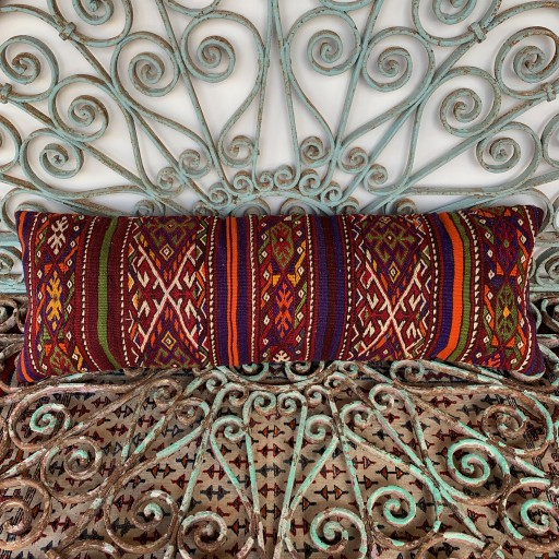 Vintage Bolster Cushion-Bls064