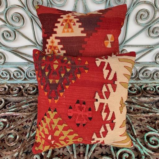 Vintage Combined Kilim Cushions-Cmb004