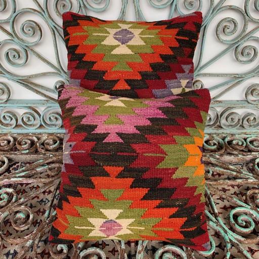 Vintage Combined Kilim Cushions-Cmb005