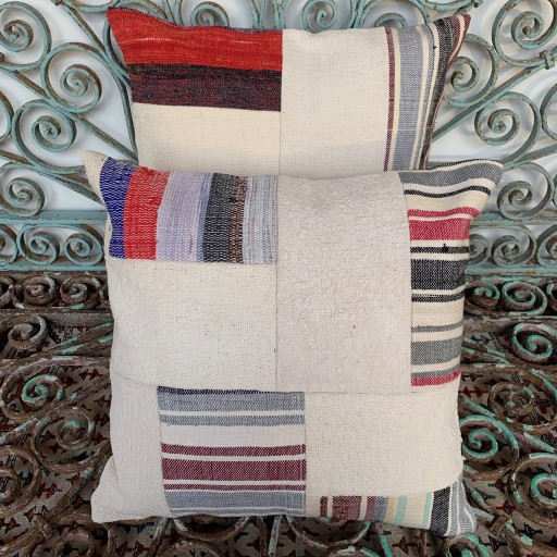 Vintage Combined Patchwork Kilim Cushions-Cmb032