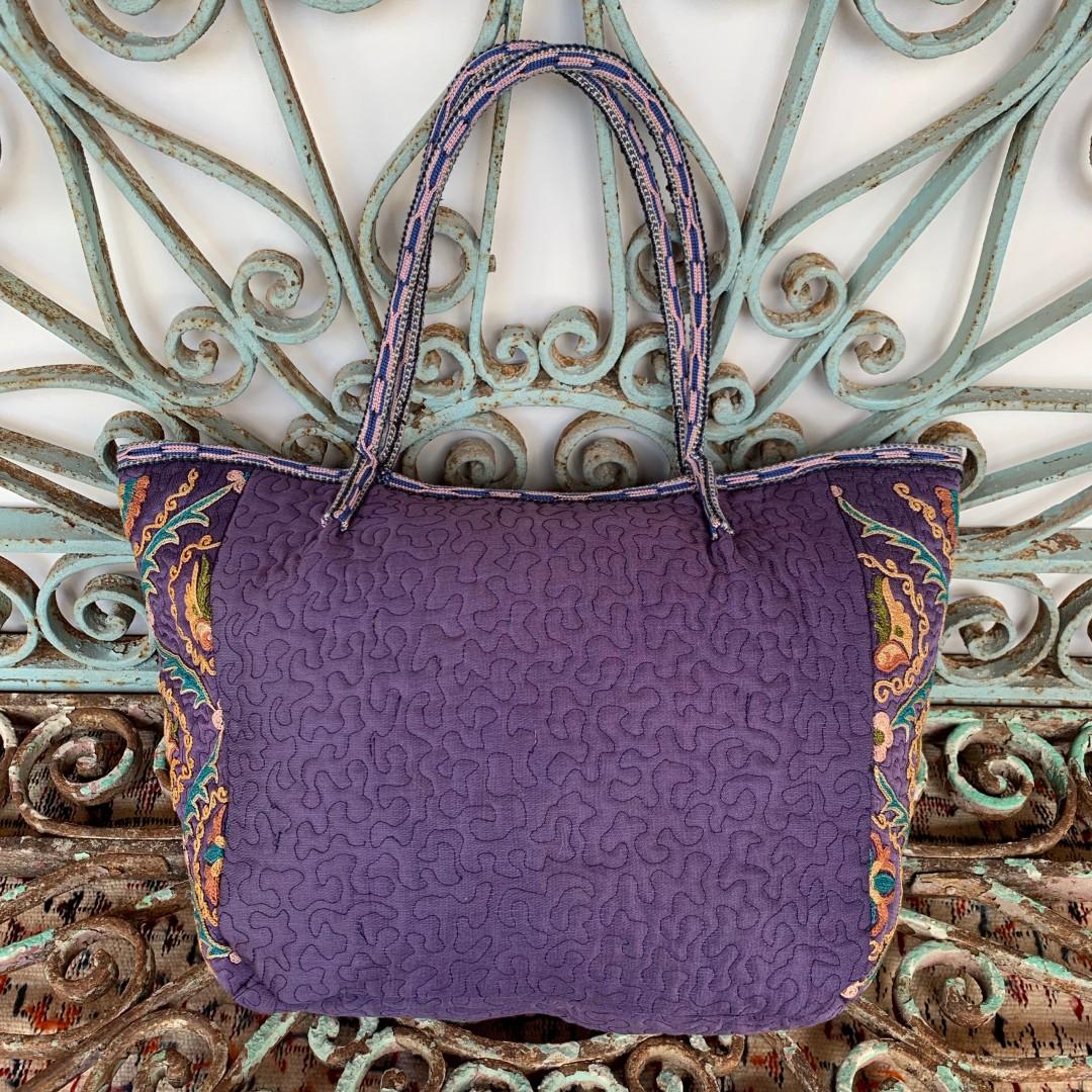 Suzani Silk Bag-Bag029
