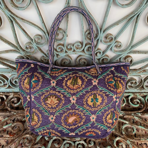 Suzani Silk Bag-Bag029