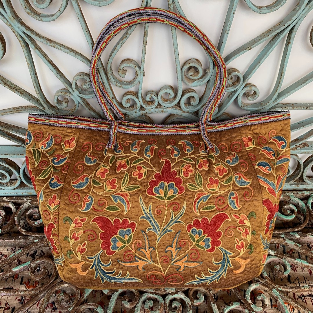 Suzani Silk Bag-Bag030