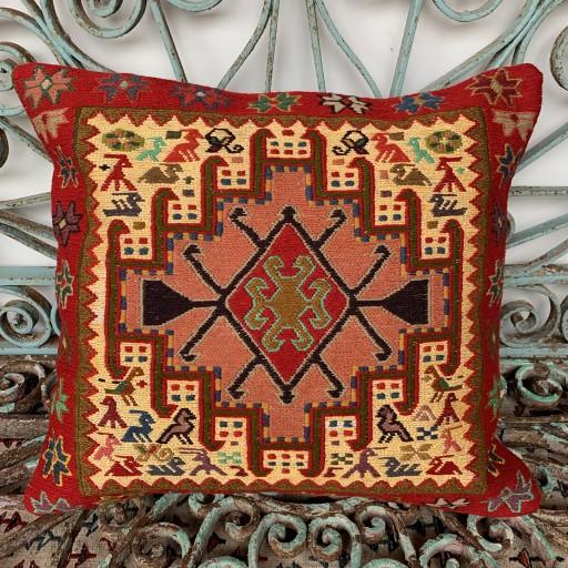Handmade Sumak Cushion-Smk018