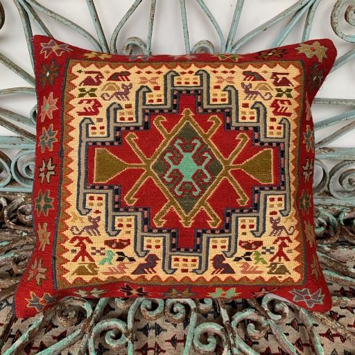 Handmade Sumak Cushion-Smk019