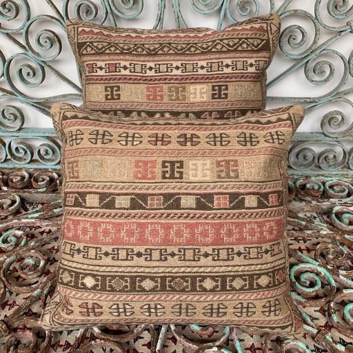 Vintage Rah Rah Sumak Combined Cushions-Cmb042