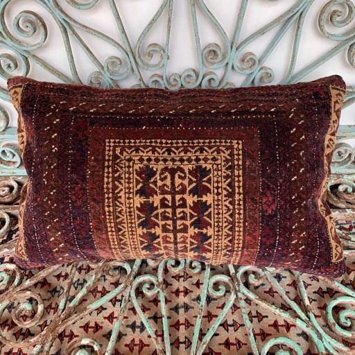 Vintage Beluch Carpet Cushion-Crp032