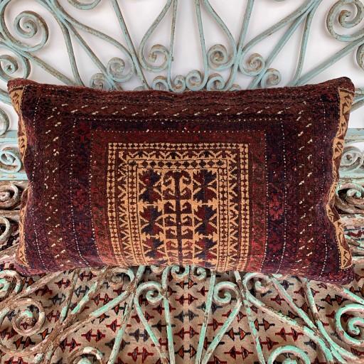 Vintage Beluch Carpet Cushion-Crp032