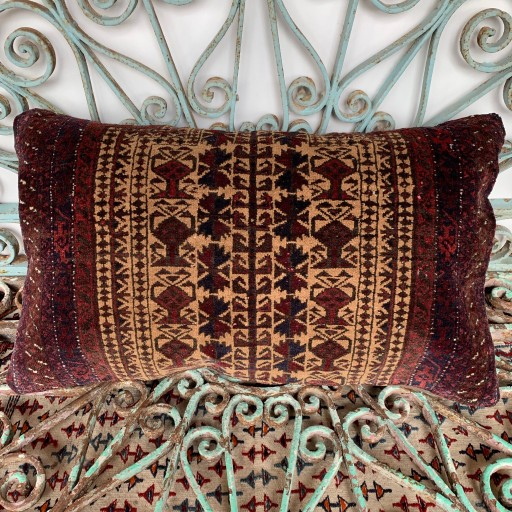 Vintage Beluch Carpet Cushion-Crp033
