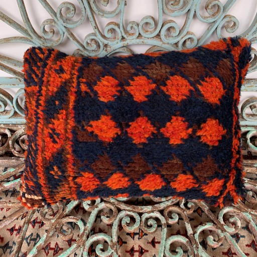 Vintage Herki Carpet Cushion-Crp034