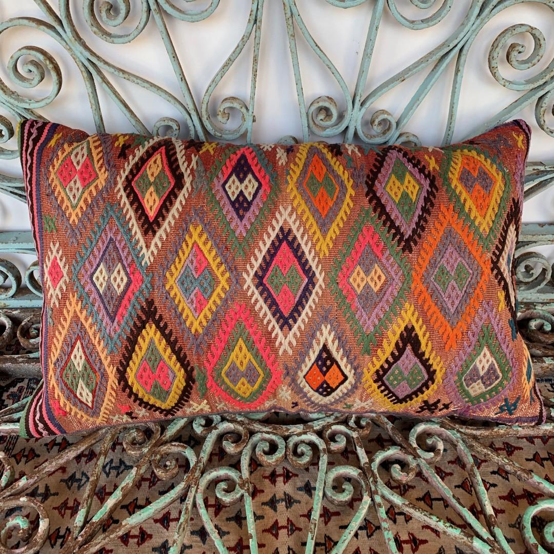 Vintage Cicim Cushion-Klm061