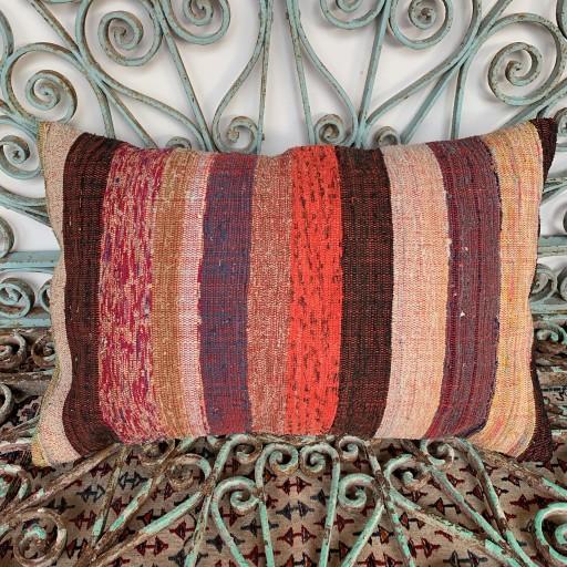 Vintage Kilim Cushion-Klm096