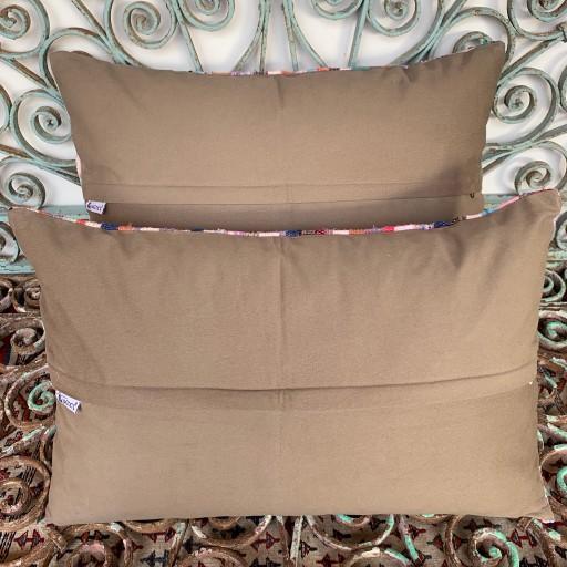 Vintage Combined Kilim Cushions-Cmb054