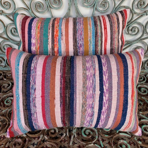 Vintage Combined Kilim Cushions-Cmb054