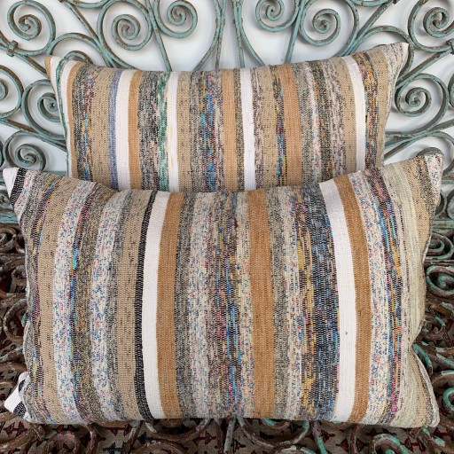 Vintage Combined Kilim Cushions-Cmb056