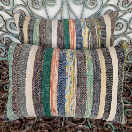 Vintage Combined Kilim Cushions-Cmb057