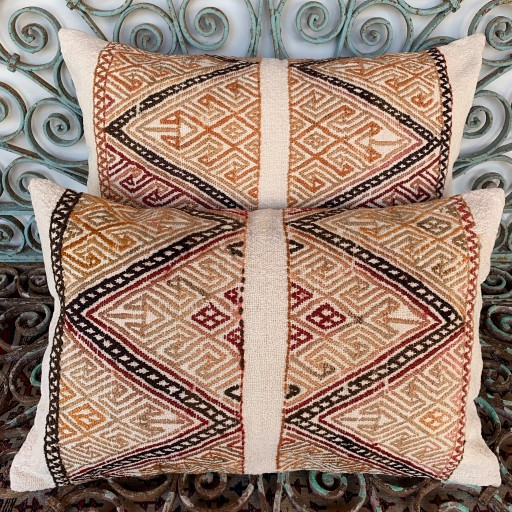 Vintage Combined Cicim Cushions-Cmb059