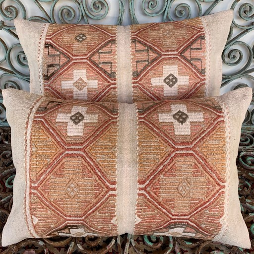 Vintage Combined Cicim Cushions-Cmb060
