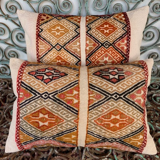 Vintage Combined Cicim Cushions-Cmb061
