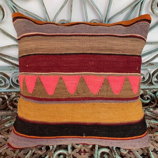 Vintage Kilim Cushion-Klm114