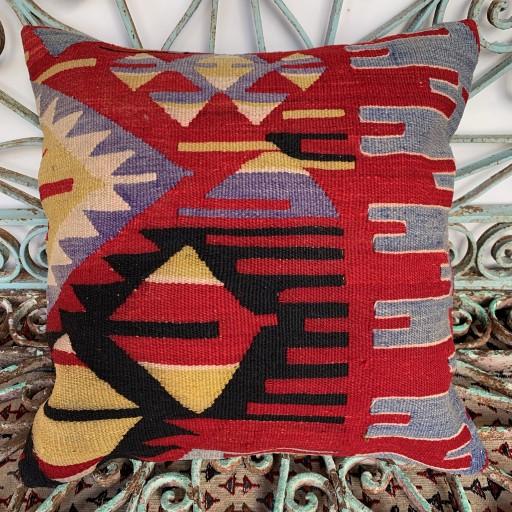 Vintage Kilim Cushion-Klm115