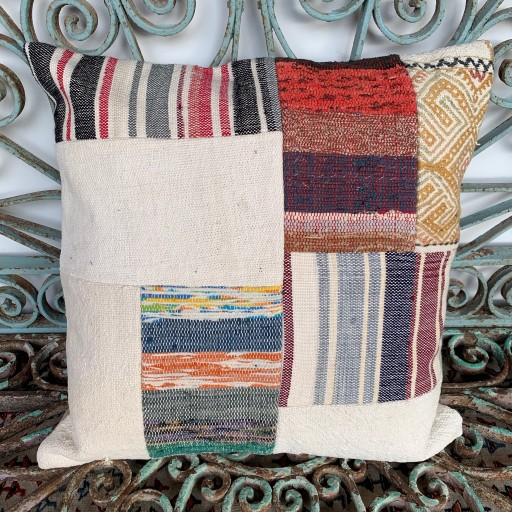 Vintage Patchwork Kilim Cushion-Pch085