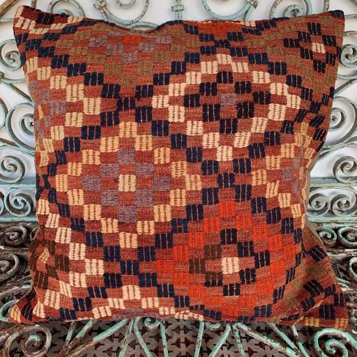Vintage Cicim Floor Cushion-Klm121